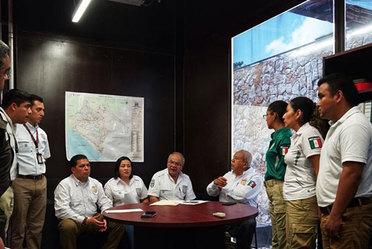 Gira de trabajo por los Estado de Chiapas y Tabasco