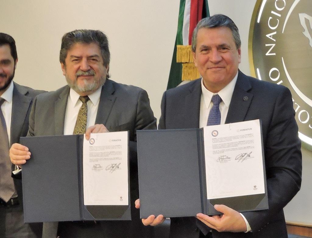 Firma de convenio entre Fonatur y el Colegio Nacional del Notariado Mexicano