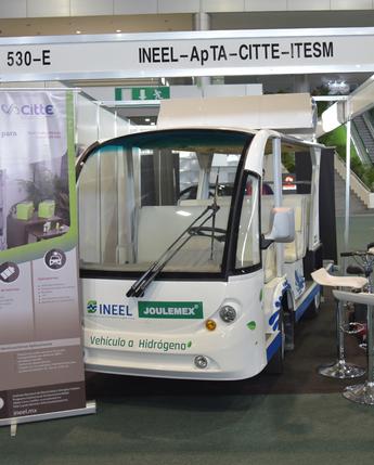 """""""Expo e-movilidad"""". La Alianza para la Industria del Transporte Eléctrico Avanzado en México, encabezada por INEEL como co-fundador."""