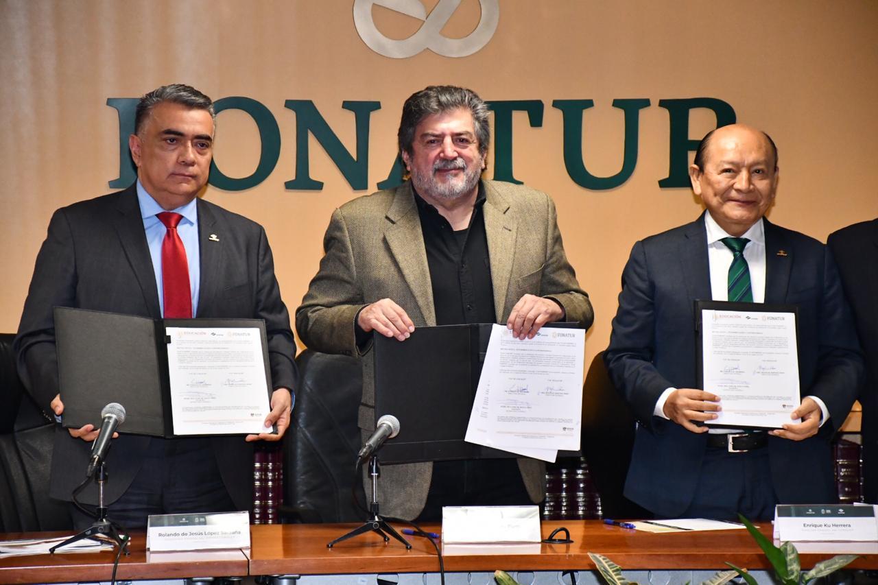 Firma de Convenio Fonatur-CONALEP