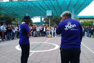 Actividades para prevenir la violencia en los planteles del Colegio de Bachilleres.