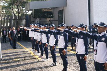 Abanderamiento y toma de protesta del equipo representativo del SSP