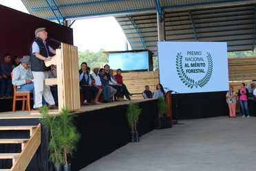 Entrega del Premio Nacional al Merito Forestal 2019