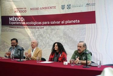 "Inauguración de la exposición fotográfica ""México: Experiencias Ecológicas para Salvar al Planeta"""