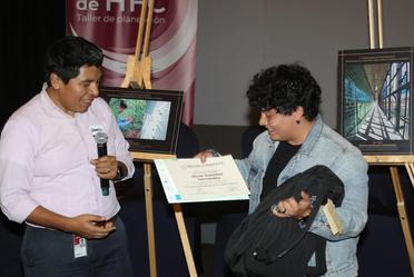"""Premiación del Concurso de Fotografía """"Enfriamiento sostenible para evitar el cambio climático""""."""