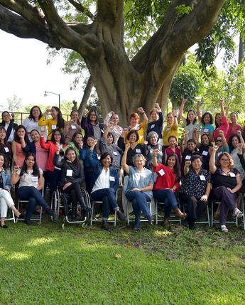 Recibimos en el INEEL a las participantes de la Tercera Reunión de 2019 de la Red Mujeres en Energía de México.