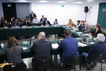 Reunión de trabajo con la Comisión de medio ambiente, sustentabilidad y cambio climático de la Cámara de Diputados