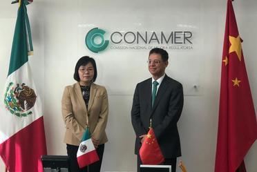 Reunión con la delegación de China