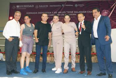 Jornada deportiva y de salud en el CEFERESO 16 - SPF - CMB.