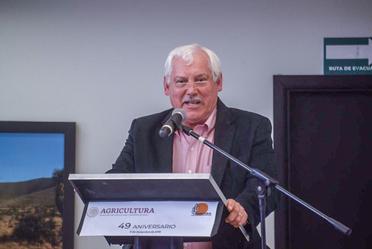 El Srio. Villalobos en el evento del 49 aniversario de la CONAZA