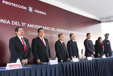 11° Aniversario del Servicio de Protección Federal