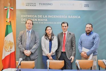 Fonatur recibe estudio sobre ingeniería básica del Tren Maya