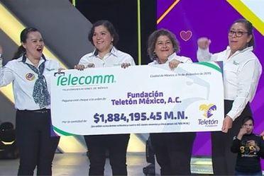 """""""Telecomm entrega cheque de los donativos recaudados en Sucursales"""""""