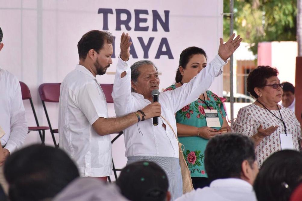 Primer día de consulta a comunidades del sureste sobre Tren Maya