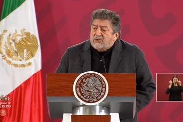 Rogelio Jiménez Pons en Palacio Nacional