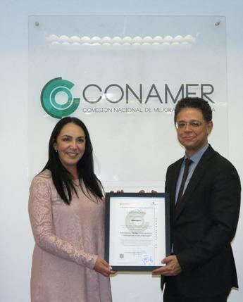Entrega certificado PROSARE al municipio de Metepec