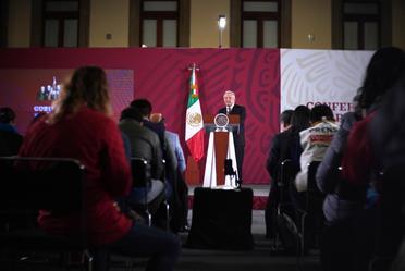 Conferencia de prensa del presidente Andrés Manuel López Obrador, del 2 de enero de 2020
