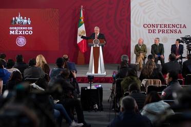 Participación del Dr. Víctor M. Toledo en conferencia matutina del Ejecutivo
