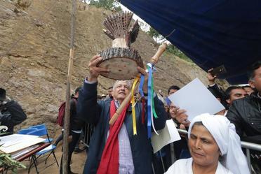 Acciones para el Bienestar de Oaxaca. Inauguración del camino rural Santo Domingo Xagacía