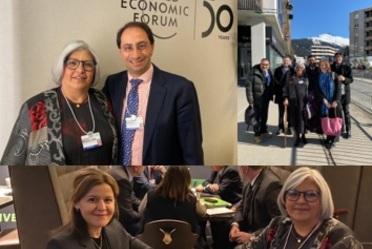 2020-ene-23, Reuniones de trabajo de la secretaria de Economía con diversos sectores en el marco del Foro Económico Mundial 2020