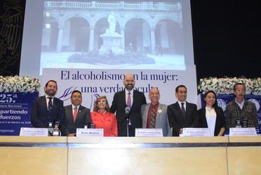 """Inauguración de la 25.a Semana Nacional de Información Compartiendo Esfuerzos """"Alcoholismo en la mujer. Una verdad oculta"""""""