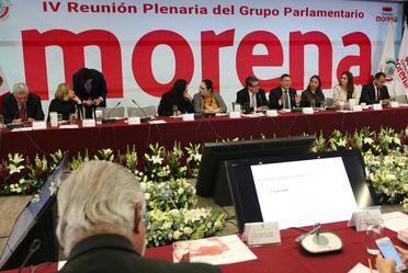 2020-ene-29, El Subsecretario Ernesto Acevedo participó en la IV Reunión Plenaria del Grupo Parlamentario de Morena