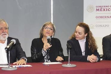 Gabriela Rodríguez Ramírez, Secretaria General del Consejo Nacional de Población.