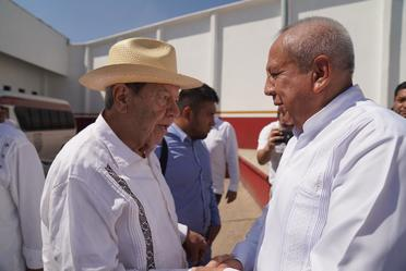 Recorrido de Diputados por estación migratoria Siglo XXI en Tapachula, Chiapas.