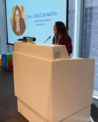 La Coordinación General @prende.mx, Google presentan: Sé genial en Internet
