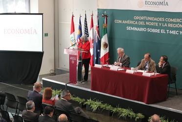 """2020-feb-12, Sesión inaugural del Seminario T-MEC / TIPAT """"Oportunidades Comerciales con América del Norte y la Región Transpacífica"""""""