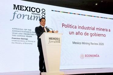 """2020-feb-12, Ponencia """"La Política industrial minera a un año de gobierno"""" en el México Mining Forum"""
