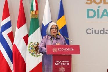 2020-feb-13, Inauguración del Día Nórdico en México, encabezada por la secretaria de Economía, Graciela Márquez