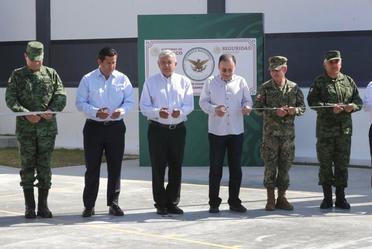 Inauguración de Instalaciones de la Guardia Nacional. Pénjamo, Guanajuato