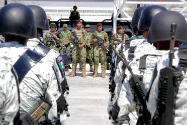 Inauguración de Instalaciones de la Guardia Nacional, desde Romita, Guanajuato