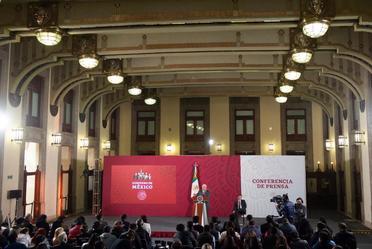 Conferencia de prensa del presidente Andrés Manuel López Obrador, del 17 de febrero de 2020