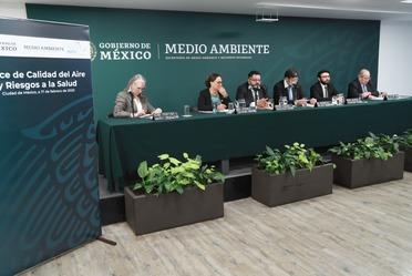 Conferencia de prensa para informar sobre la NOM-172-SEMARNAT-2019