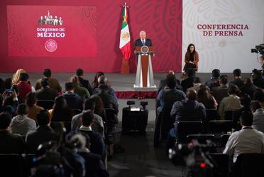 Conferencia de prensa del presidente Andrés Manuel López Obrador, del 19 de febrero de 2020