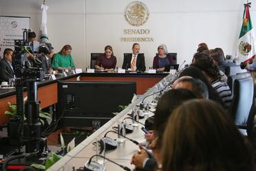 2020-feb-19, La Secretaria de Economía, Graciela Márquez, se reúne con la Comisión de Economía del Senado de la República