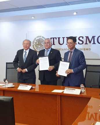 Firma de Convenio entre SECTUR y CONAMER para la aplicación de la Ley de Confianza Ciudadana