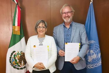 """Firman Conapo y UNFPA Plan de Trabajo 2020 """"Temas Emergentes de la Política de Población en México""""."""