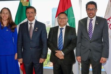 2020-feb-25, Visita del Ministro de Economía de los Emiratos Árabes Unidos / Foro de Negocios y Comercio México – Emiratos Árabes Unidos