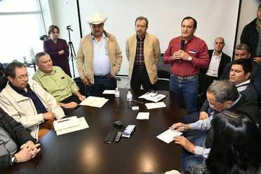 Reunión con el Secretario de Desarrollo Rural de Chihuahua