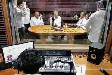 Diálogo con los pueblos chontal, náhuatl y zoque-ayapaneco de Tabasco. Inauguración de la radiodifusora La Voz de los Chontales