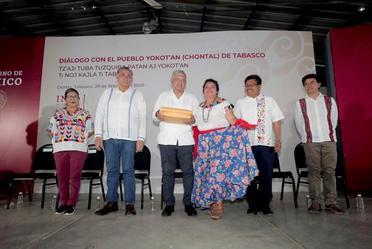 Diálogo con el Pueblo Chontal de Tabasco