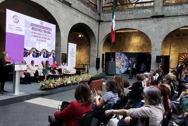 Presentación del Documental Nosotras y Beijing de la directora Laura Hernández Arevalo. En conmemoración a los 25 años de la IV Conferencia Internacional de Mujeres.