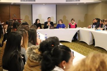 La presidenta Nadine Gasman sostuvo una reunión con Directoras de las Instancias Municipales de las Mujeres en Zacatecas.