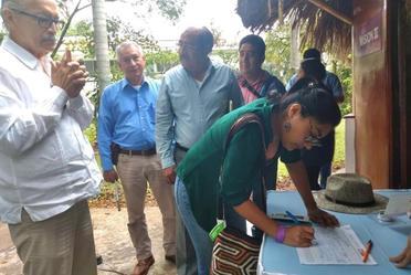 Diálogo permanente con pueblos indígenas sobre Tren Maya; se realiza seguimiento de acuerdos con gobierno federal