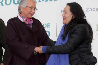 Aspectos durante el Día Internacional de las Mujeres y Programas Integrales para el Bienestar, desde Fresnillo, Zacatecas.