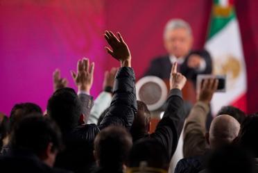 Conferencia de prensa del presidente Andrés Manuel López Obrador, del 9 de marzo de 2020