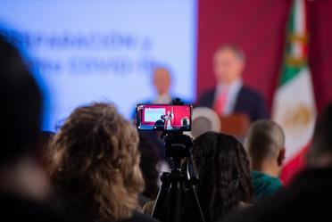 Conferencia de prensa del presidente Andrés Manuel López Obrador, del 13 de marzo de 2020